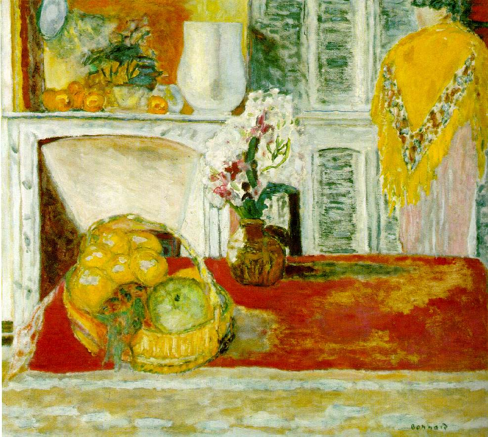 corner of the dining room - pierre bonnard - wikiart