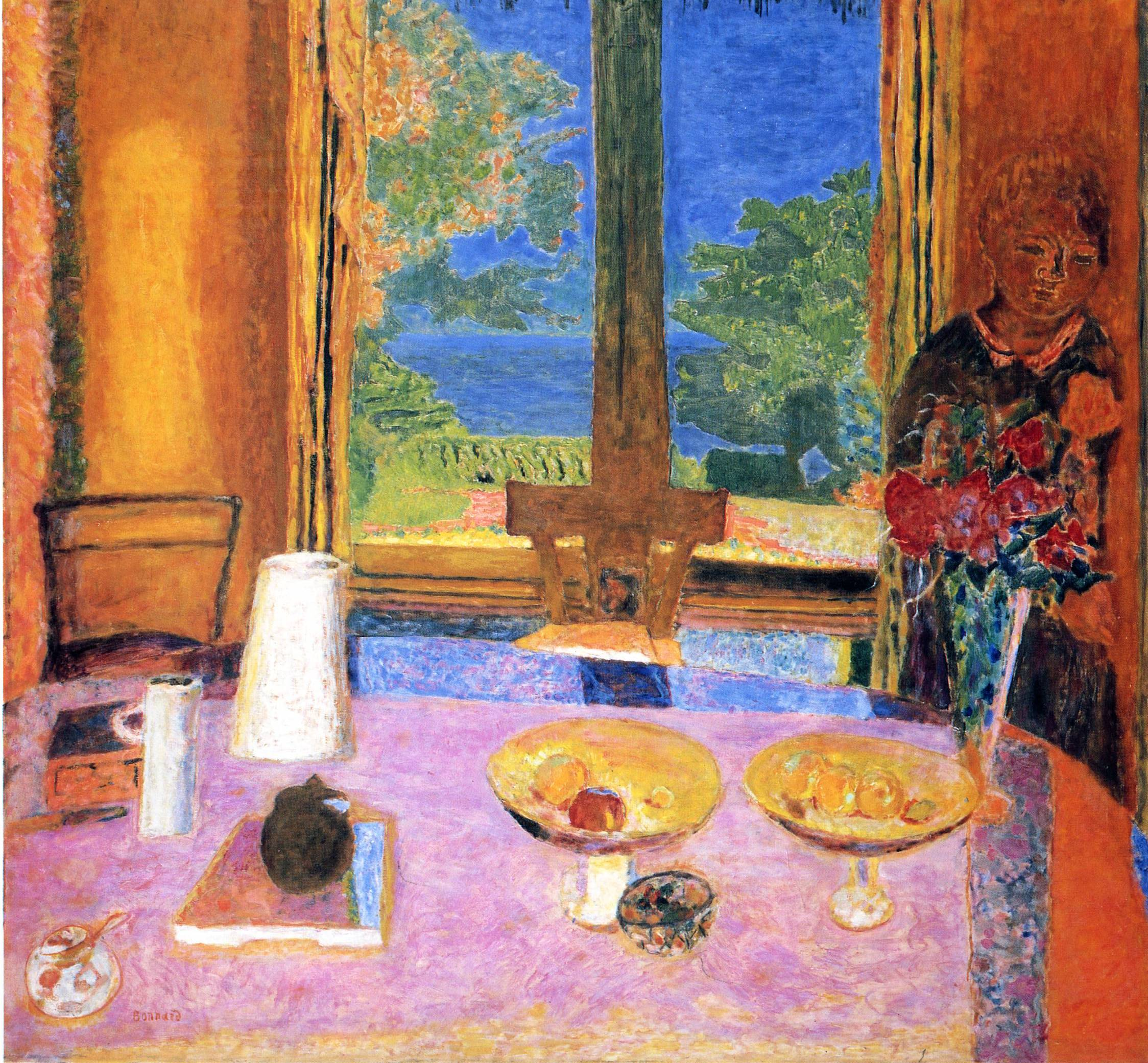 dining room on the garden pierre bonnard
