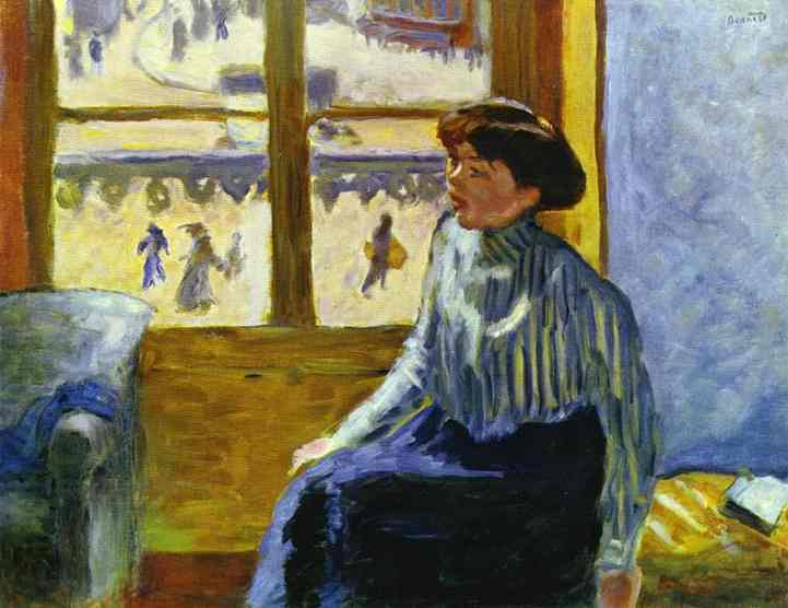 Young Woman Before the Window, 1898 - Pierre Bonnard