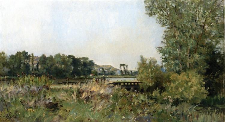 Near Amiens, 1889 - Pierre Emmanuel Damoye