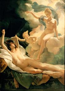 Morpheus and Iris - Pierre Narcisse Guérin