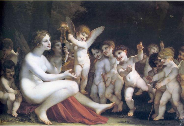 The Torch of Venus - Pierre-Paul Prud'hon
