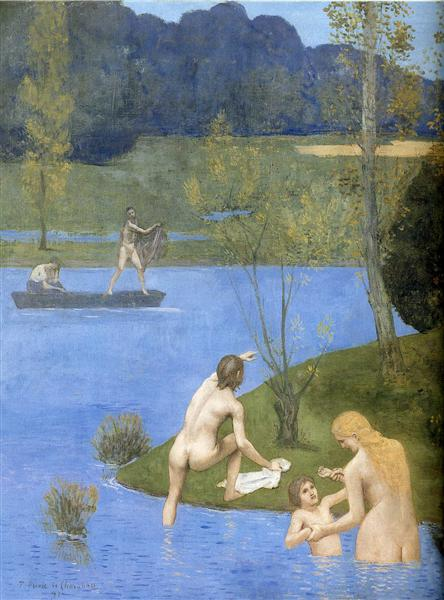 Summer (detail), 1891 - Pierre Puvis de Chavannes