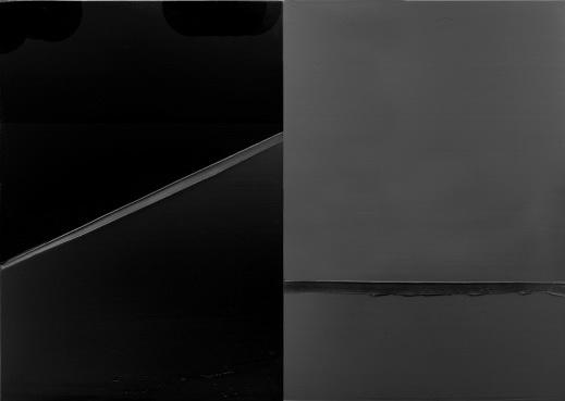 Peinture 222 x 314 cm, 24 février 2008, 2008 - Pierre Soulages