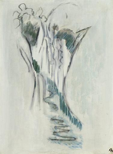 Cascade (Eau coulant entre rochers) - Pierre Tal-Coat