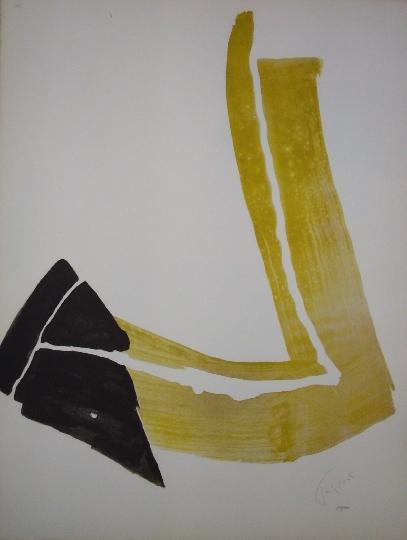 Penchée II, 1970 - Pierre Tal-Coat