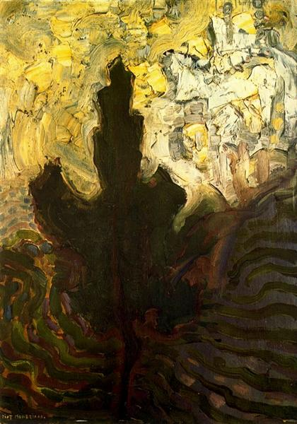 not identified, 1908 - Piet Mondrian