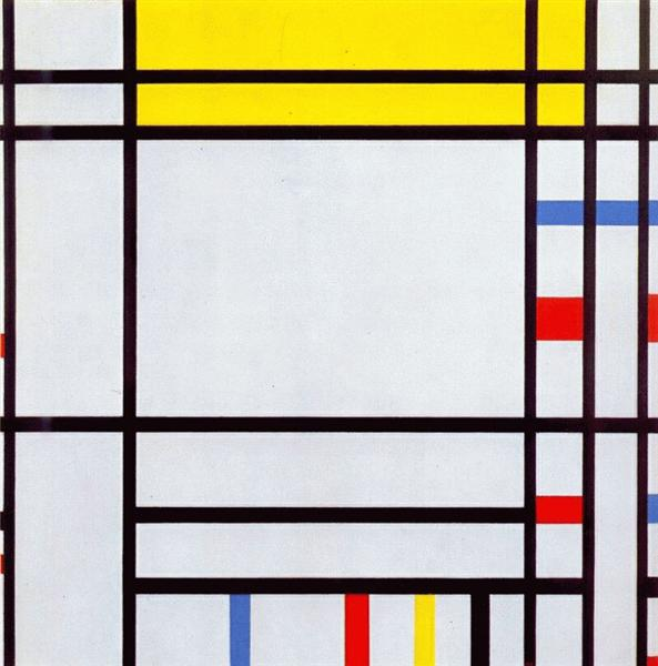 Place de la Concorde, 1938 - 1943 - Piet Mondrian