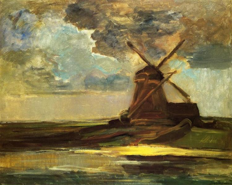 Windmill in the Gein, 1906 - 1907 - Piet Mondrian