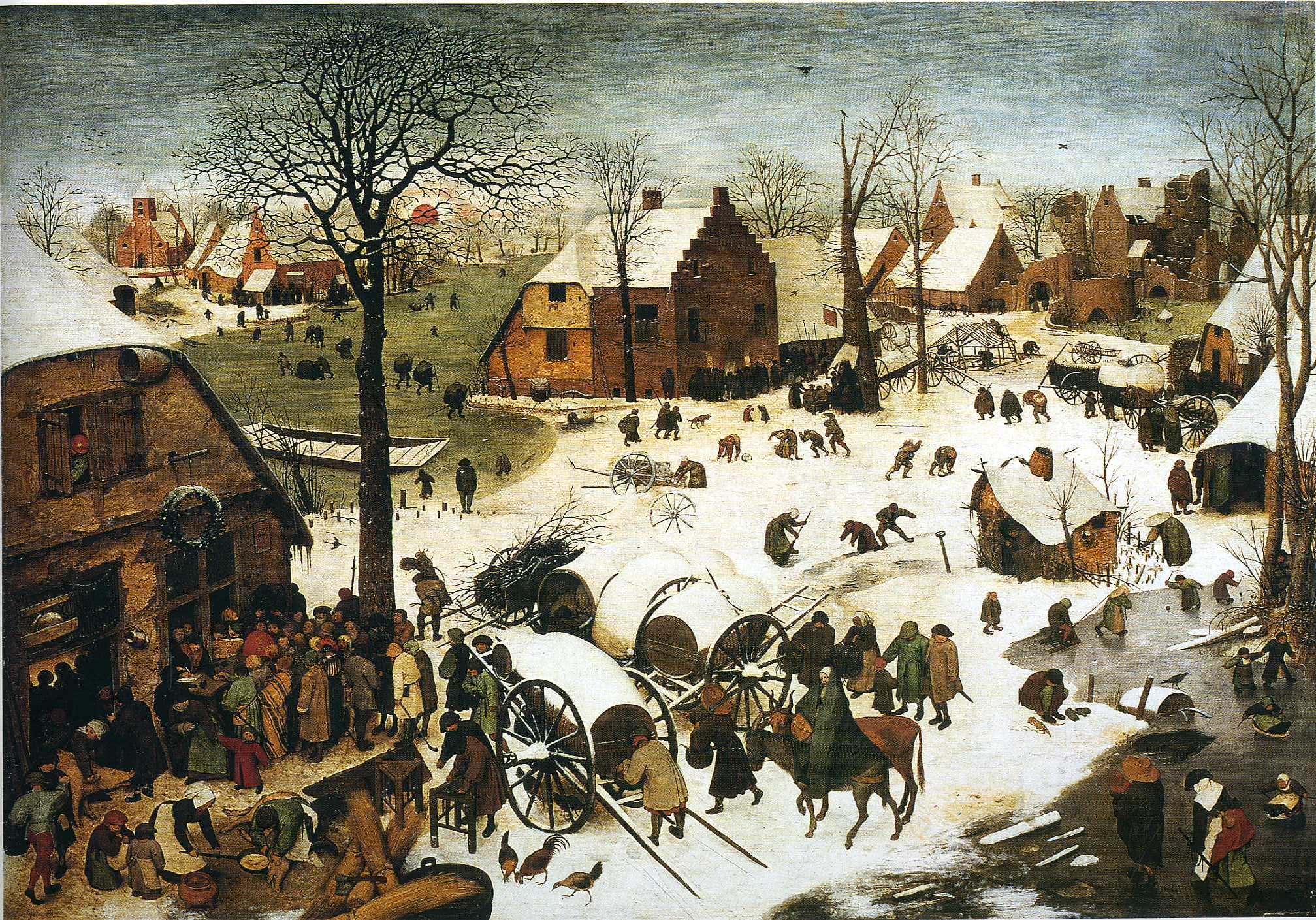 Census at Bethlehem, 1566