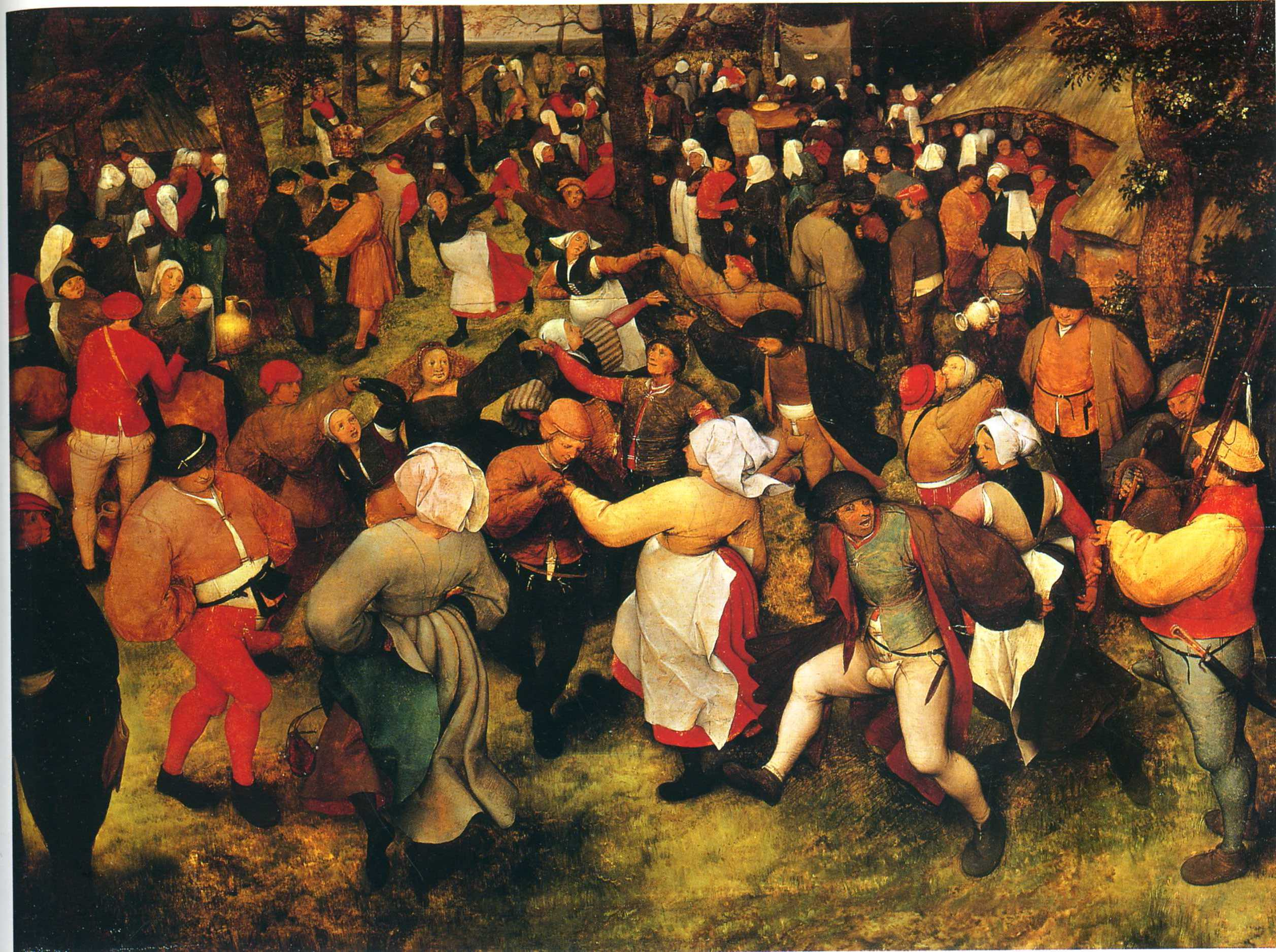 The Wedding Dance in the open air, 1566