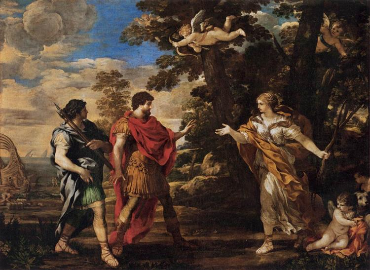 Venus Appearing to Aeneas as a Huntress, 1631 - Pietro da Cortona