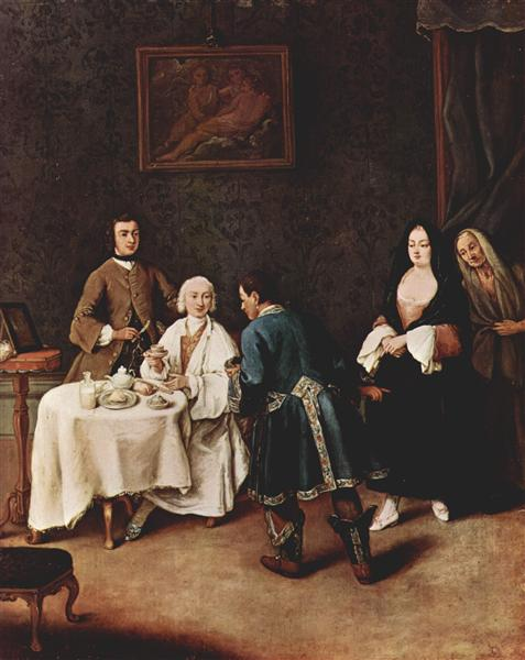 A Visit to a Lord - Pietro Longhi