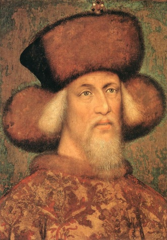 Portrait of Emperor Sigismund of Luxembourg, 1433