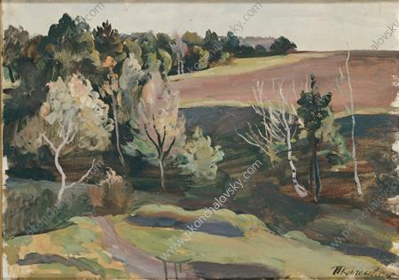 Landscape against the sun, 1935