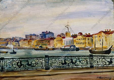 Leningrad. Nicholas Bridge., 1931