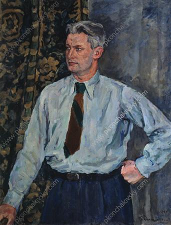Portrait of Alexander Alexandrovich Fadeyev, 1941