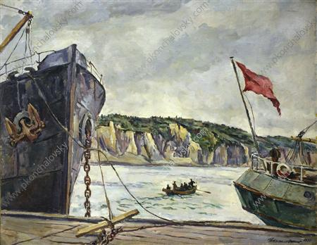 Quay in Murmansk, 1936