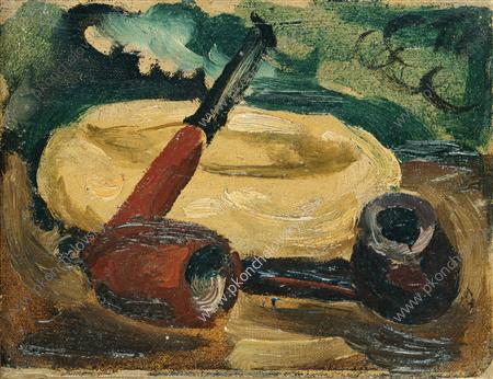 Still Life. Pipes., 1931