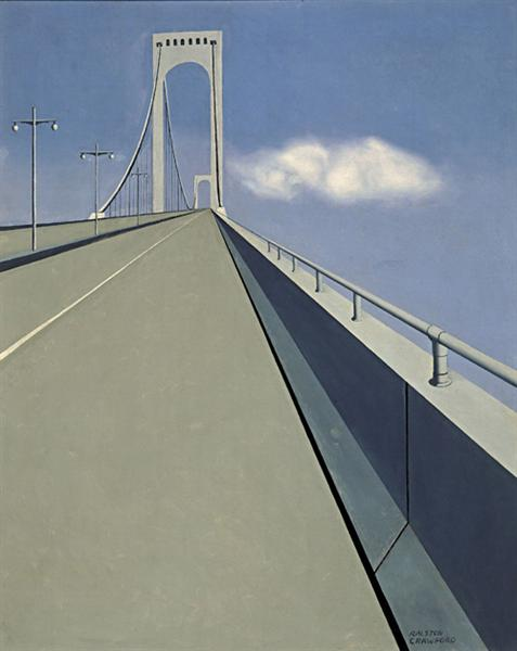 Whitestone Bridge, 1939 - 1940 - Ralston Crawford
