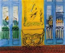 Console With Two Windows - Raoul Dufy