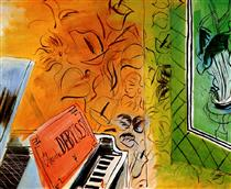Homage to Claude Debussy - Raoul Dufy
