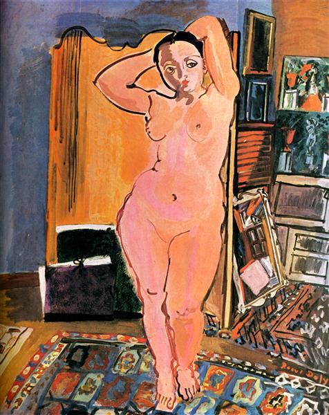 Naked, 1928 - Рауль Дюфі