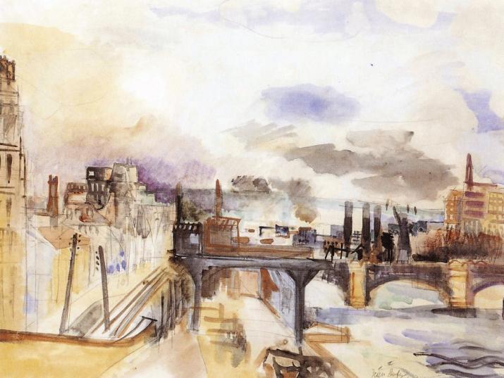 Parisian Bridge, 1922 - Raoul Dufy