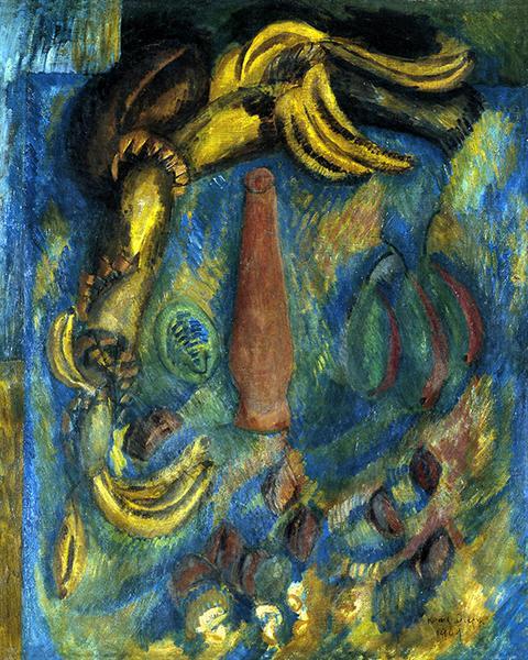 Still life with Bananas, 1909 - Raoul Dufy