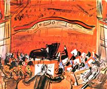 The Red Concert - Raoul Dufy
