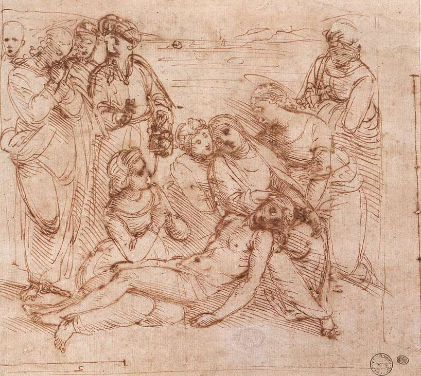 Lamentation over the Dead Christ, 1505