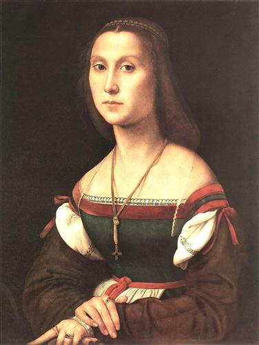 Portrait of a Woman (La Muta) - Raphael