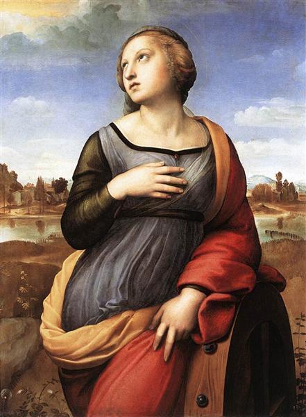 St. Catherine of Alexandria, 1507-1508 - Raphael