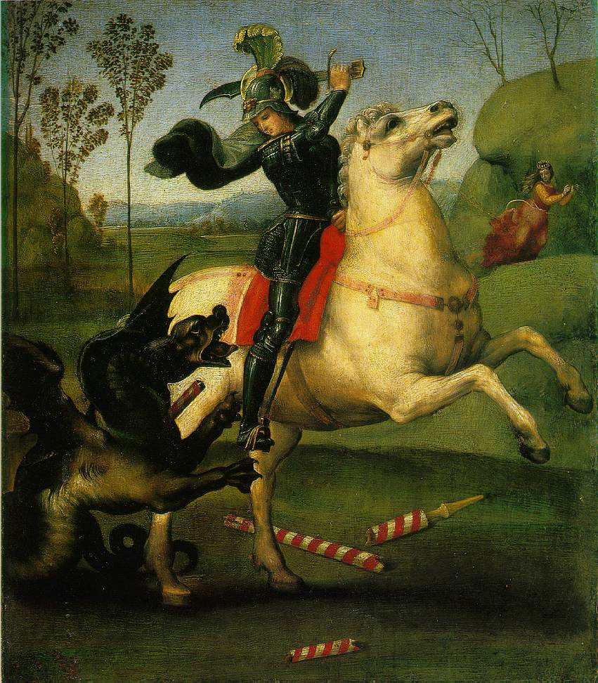 St. George Struggling with the Dragon, 1503-1505