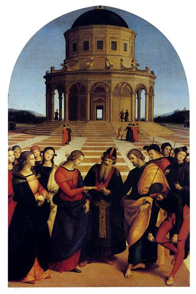 The Marriage of the Virgin, 1504 - Raphael