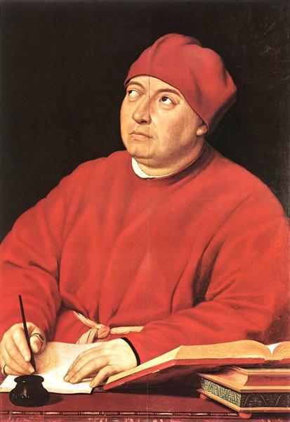 Tommaso Fedra Inghrami, c.1515 - c.1516 - Raphael