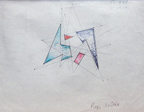 Composition 958, 1985 - Raul Lozza