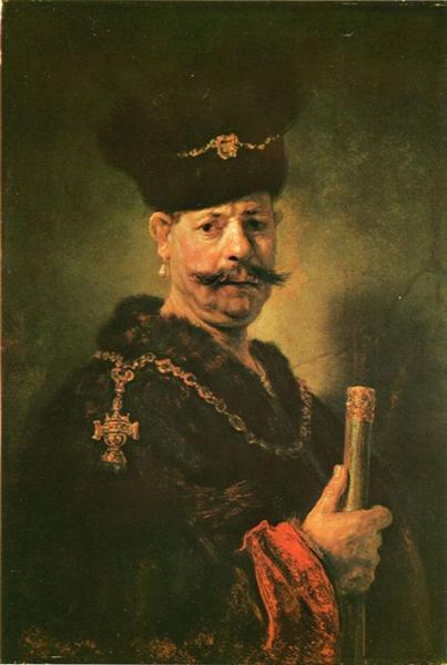 Polish Nobleman, 1637 - Rembrandt