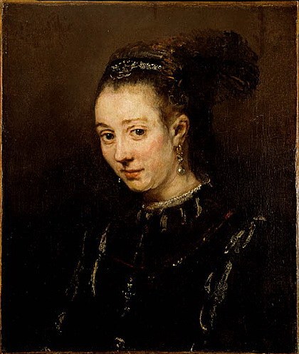 portrait of a young woman 1655 rembrandt wikiartorg