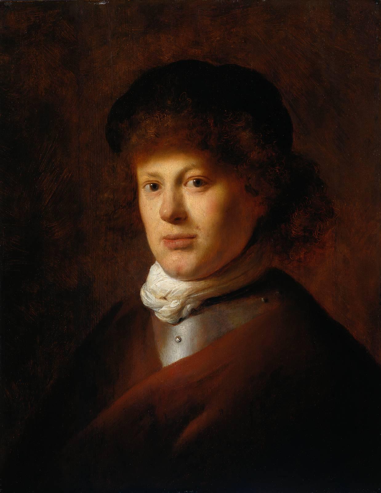 Rembrandt Van Rijn Self Portrait 1629 Portrait of Rembrandt ...