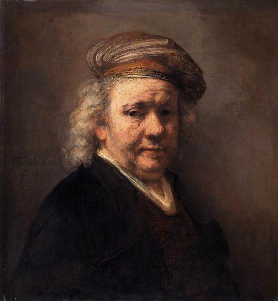 Self-portrait, 1669 - Rembrandt