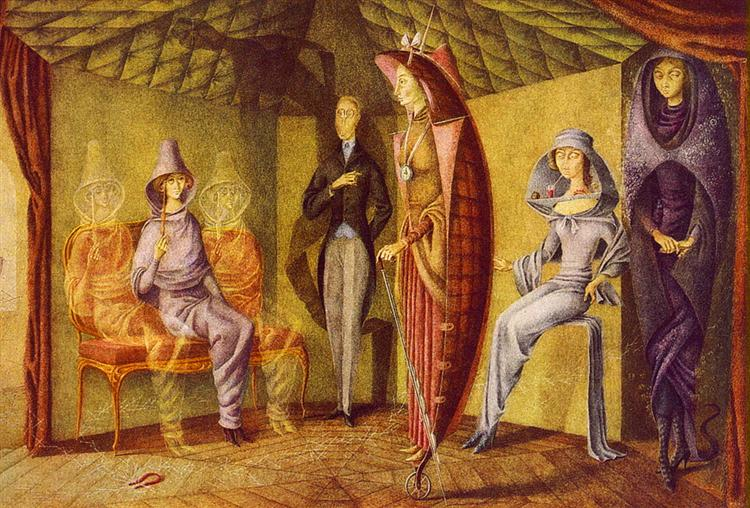 Ladies' Suit, 1957 - Remedios Varo