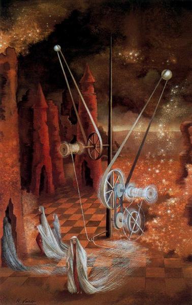 Premonition, 1953 - Remedios Varo