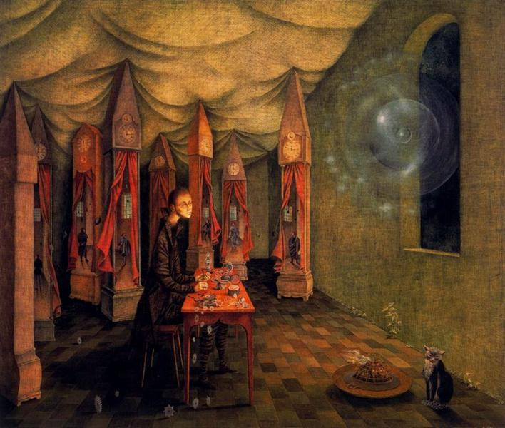 Revelation (The watch), 1955 - Remedios Varo