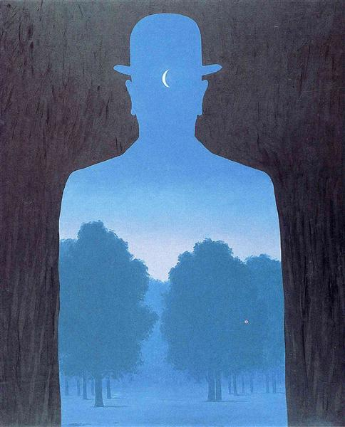 A friend of order, 1964 - Rene Magritte