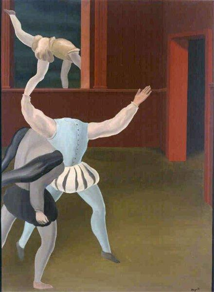 A panic in the Middle Ages, 1927 - René Magritte