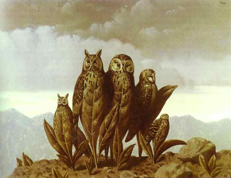 Companions of Fear, 1942 - Rene Magritte