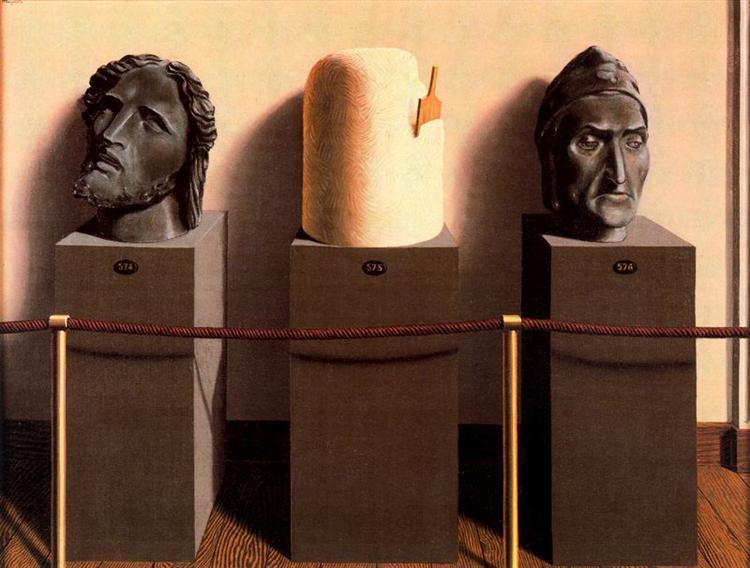Eternity, 1935 - Rene Magritte