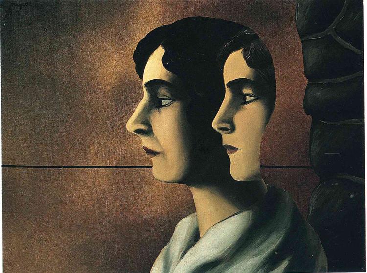 Faraway looks, c.1927 - René Magritte