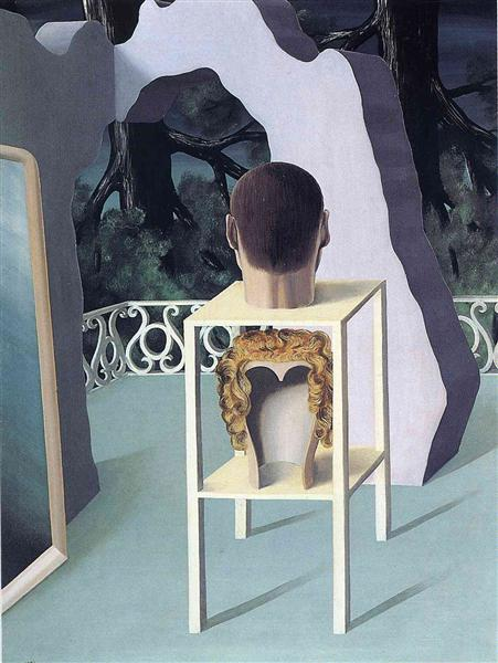 Midnight marriage, 1926 - René Magritte